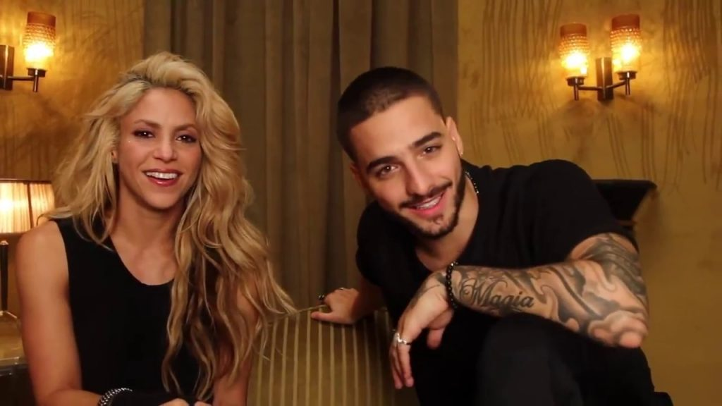 Shakira feat Maluma